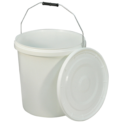 Commode Bucket and Lid for Norfolk Commode Chair (Capacity (litres) 20