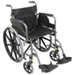 Get details for Deluxe Self Propelled Steel Wheelchair